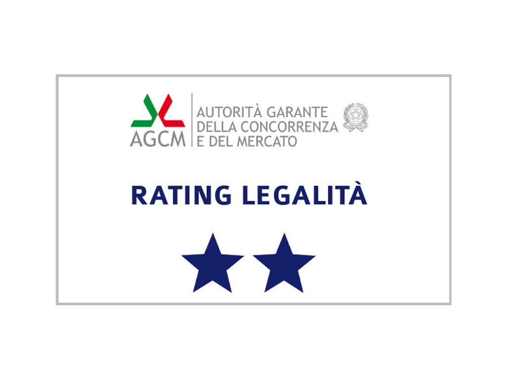 rating legalità 2 stelle